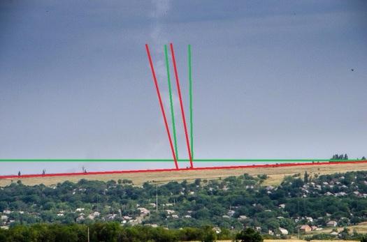 MH17 4redandgreenline